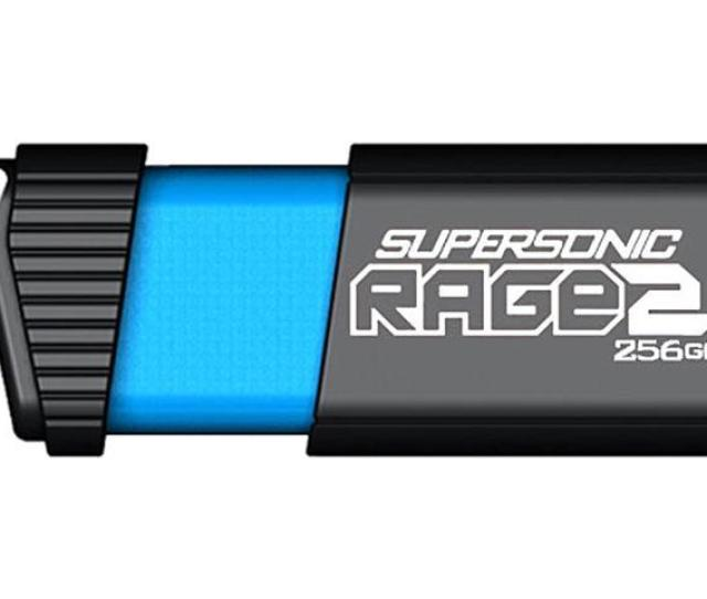 Patriot Memory 256gb Supersonic Rage  1 Flash Drive Speed Up To 400mb