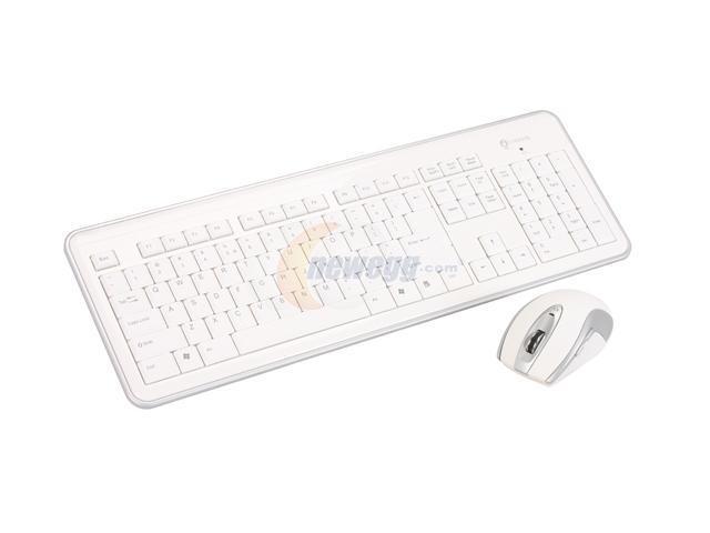 i-rocks RF-6572-WH White 104 Normal Keys USB 2.4GHz RF
