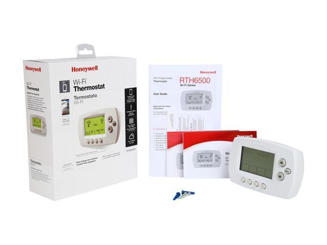 honeywell wifi thermostat kit external heart diagram wi fi 7 day programmable smart rth6580wf1001 w
