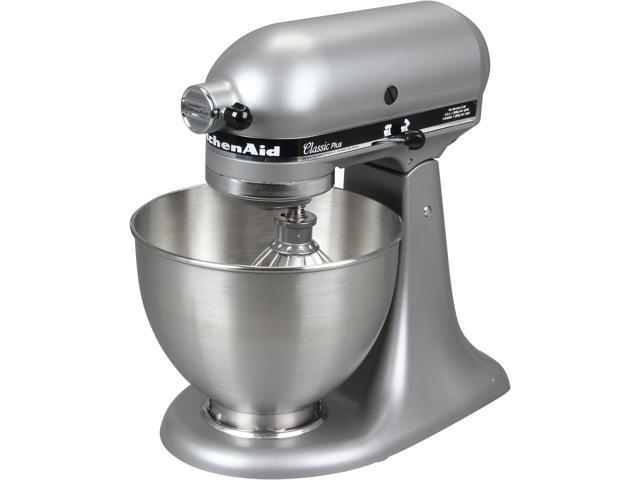 kitchen aid classic plus smudge proof stainless steel appliances kitchenaid ksm75sl series 4 5 quart tilt head stand mixer silver
