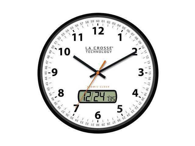 La Crosse Technology WT-3128U Atomic Analog Clock with