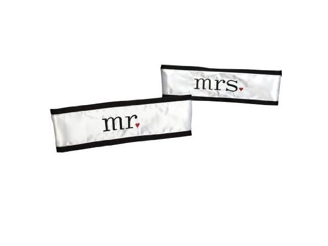 wedding chair sash accessories portable lounge canada hortense b hewitt together at last sashes mr and mrs