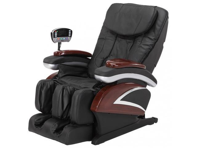 massage chair with heat antique tiger oak rocking electric full body shiatsu recliner stretched foot rest