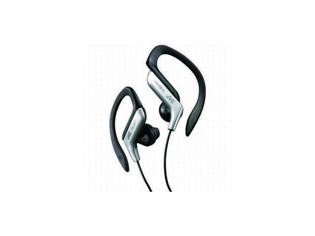 JVC JVCHAEB75Ss JVC HAEB75S Sports Clip Headphone (Silver