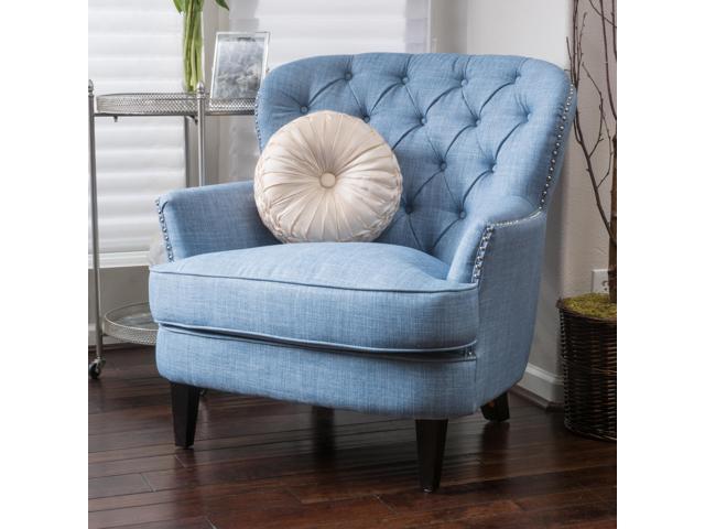 tafton club chair eddie bauer high pad christopher knight home tufted fabric newegg com