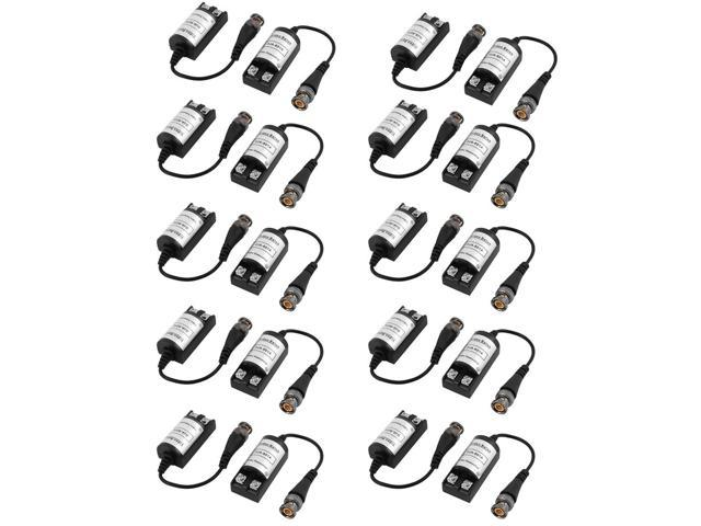 10 Pairs NVL-201C One Channel Passive CAT5 Cable Video