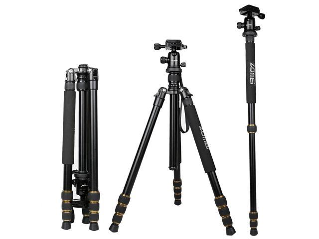 ZOMEI Q666 Portable Professional Tripod&Ball Head Travel