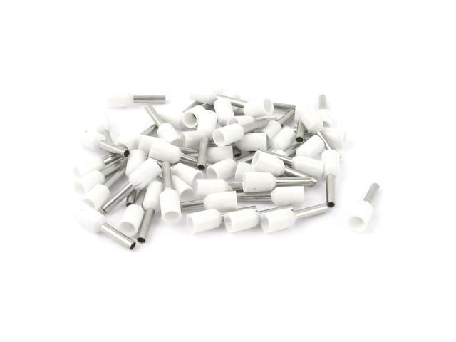 Global Bargains 50Pcs E1508 16AWG Wire Crimp Insulated