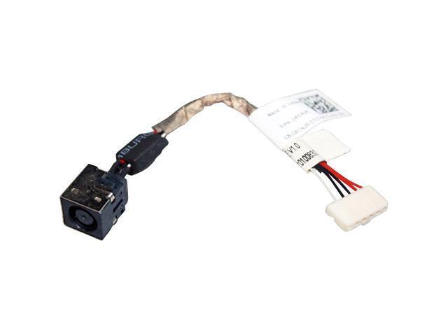 New AC DC Power Jack Plug Socket Cable Harness for Dell