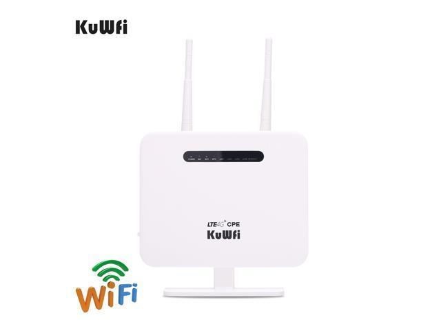 KuWFi CPE810T Router, 300Mbps Unlocked 4G LTE WIFI Mobile