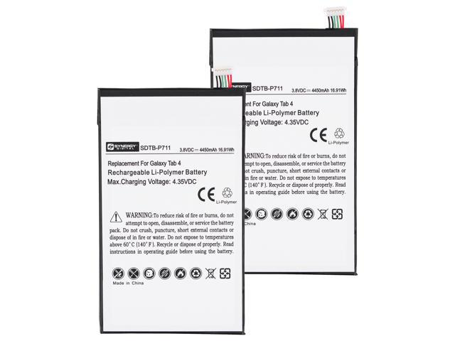 Samsung Galaxy Tab 4 8.0 Tablet Battery Combo-Pack