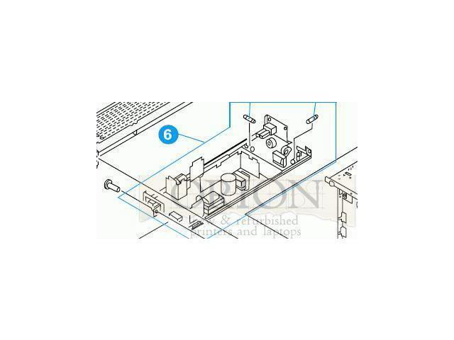 Refurbished: Hp 5500 5550 Power Supply Assembly Rg5-6808