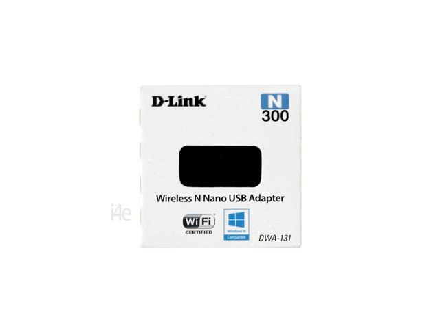 D-LINK DWA-131 Wireless N 300 Mbps Nano USB Adapter