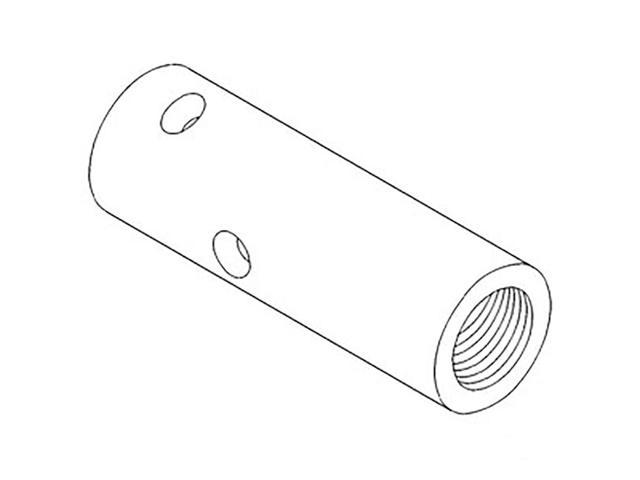 400835R1 New Inner Pipe Made to fit Case-IH Tractor Models