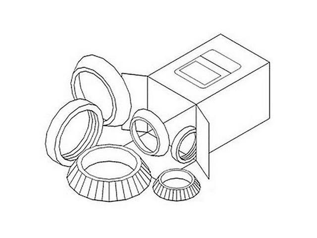 WBKAC5 New Wheel Bearing Kit Made for Allis Chalmers