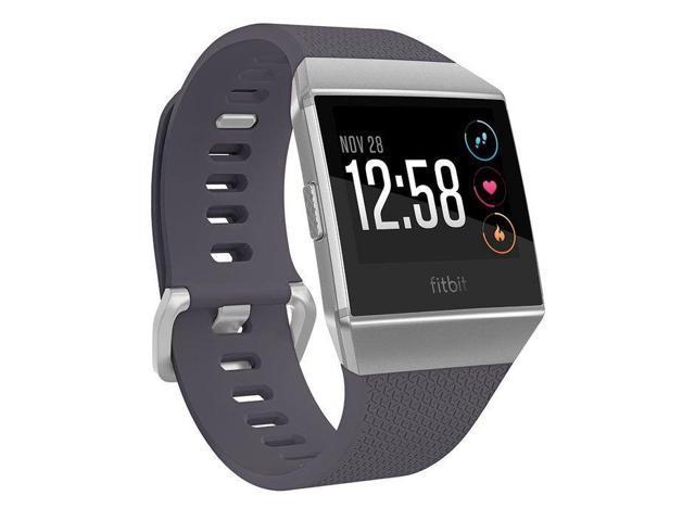Fitbit Ionic Watch - Wrist - Optical Heart Rate Sensor, Accelerometer, Gyro Sensor, Altimeter, Ambient Light Sensor - Sleep Monitor, Music Player, Text Messaging, Calendar, Clock Display, Alarm - ...