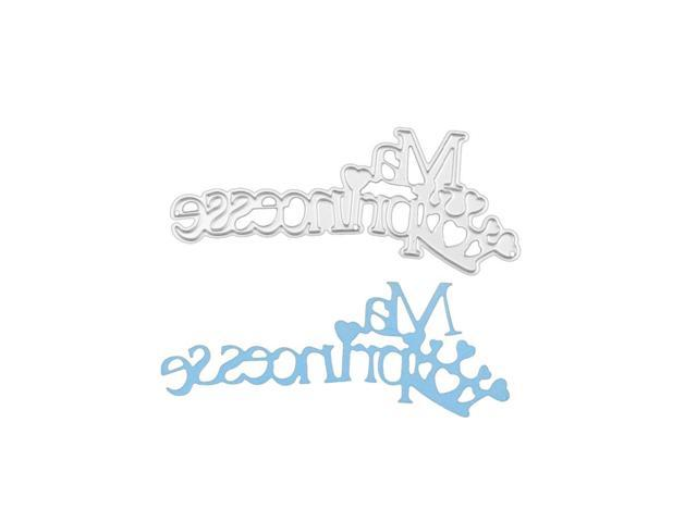 French Letters ma princesse Metal Cutting Dies for DIY
