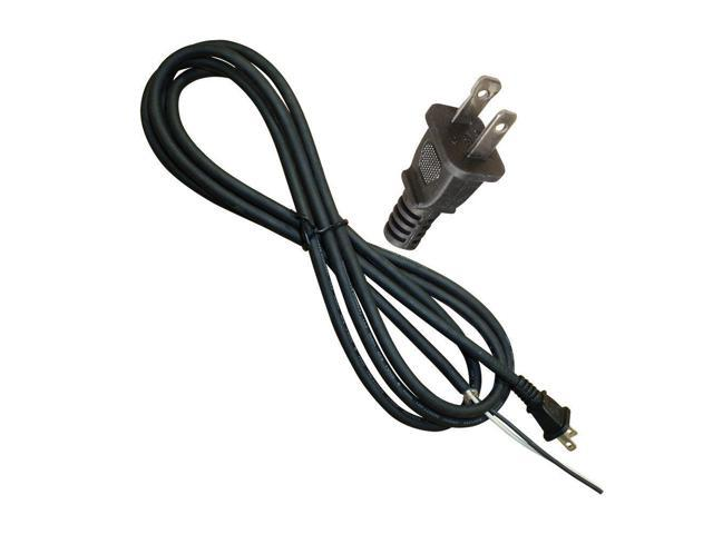 AGT EC182 Replacement Electical Cord 9 Feet 18 AWG SJO 2