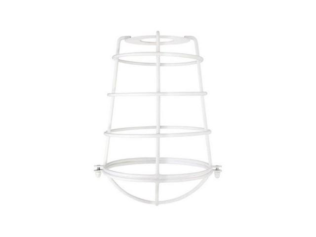 Westinghouse 85034 Cylindrical Cage Shade in White