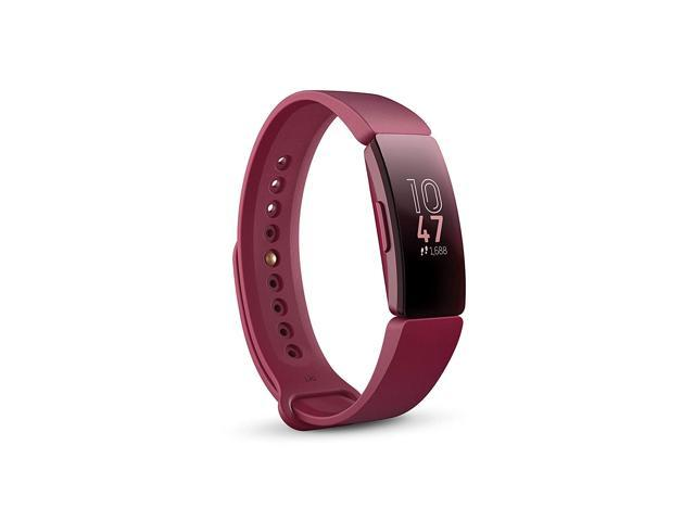 Fitbit FB412BYBY Inspire Activity Tracker with S & L Band, One Size, Sangria