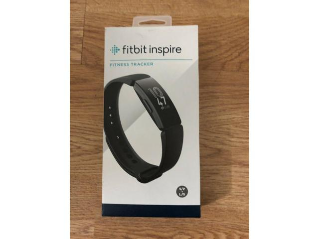 Fitbit FB412BKBK Inspire Fitness Tracker, One Size (S and L bands included)