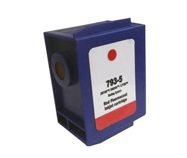 Compatible Pitney Bowes 793 5 P7935 Fluorescent Red Ink Cartridge For Dm100i Dm200l P700 Dp100