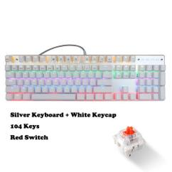 Mechanical Keyboard Wiring Diagram Kawasaki Klf 300 4x4 Wanmingtek Usb Wired Gaming 104 Keys Red Switch With Led Mix