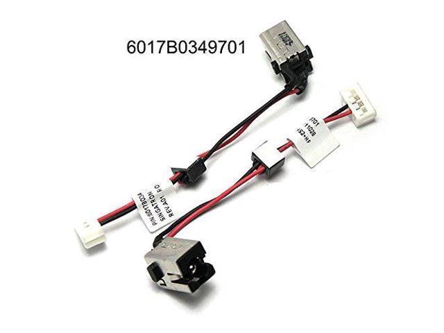 New AC DC Power Jack PLUG Harness Socket Cable For Toshiba