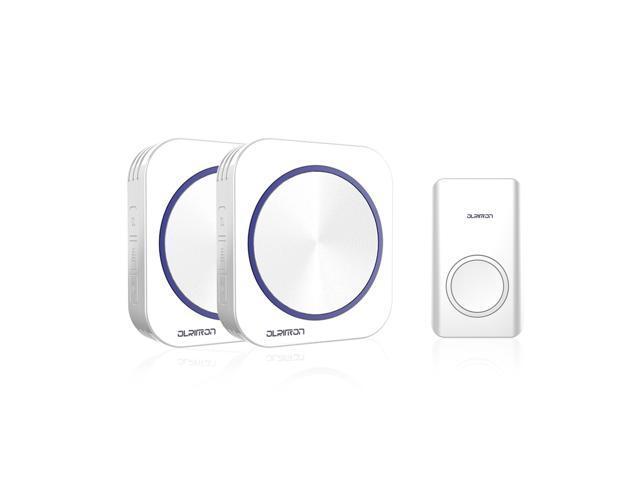 OLRITRON Wireless Doorbell Chime, Battery-Free Kinetic