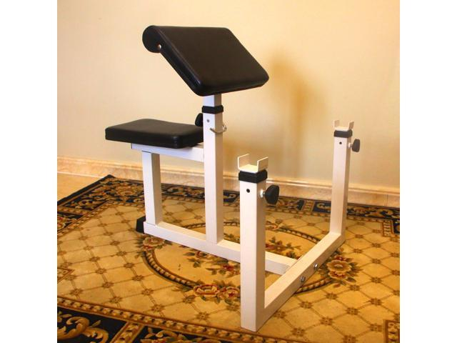 gym bench press chair covers perth sportmad preacher curl weight rack adjustable seated dumbbell roman hyperextension