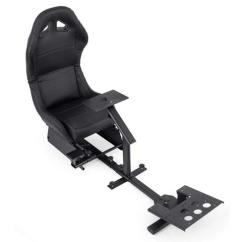 Xbox One Gaming Chairs Hawaiian Sun Vevor Driving Simulator Chair Adjustable And Foldable Racing Cockpit Seat With Gear Shifter Mount For