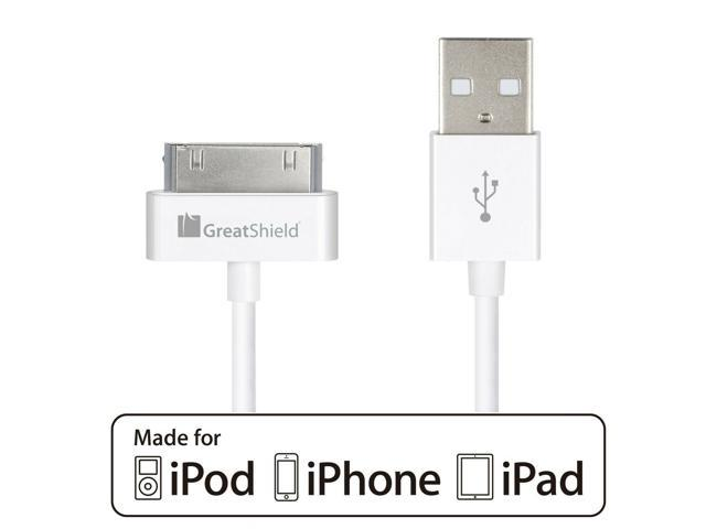 Apple MFI Certified For iPhone 4 4s 3G 2G iPad iPod USB