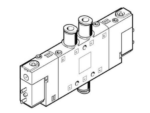 FESTO CPE14-M1BH-5J-QS-6 Solenoid Valve 196907 Width 14mm
