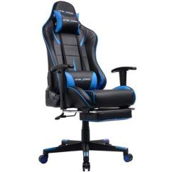 Ergonomic Chair With Footrest Round Bistro Cushions Gtracing Gaming Office Heavy Duty E Sports For Pro Gamer Seat Height Adjustable Multifunction Recliner