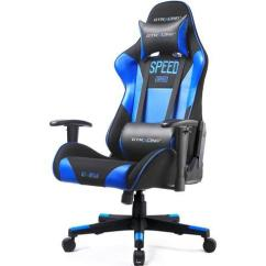 Racing Desk Chair Dining Room Chairs Clearance Gtracing Pu Office Backrest And Seat Height Adjustment Computer With Pillows