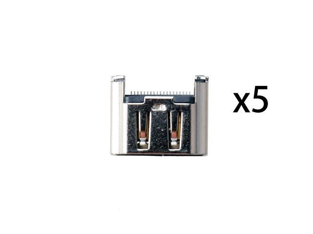 5× HDMI Port Socket Interface Connector Replacement HDMI