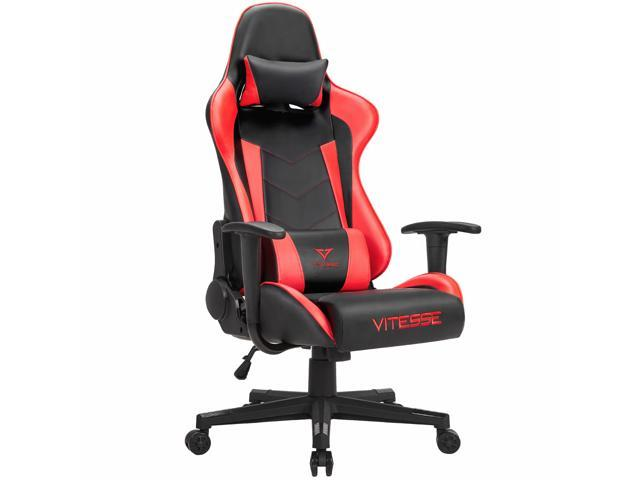 office chair red big lots rocking cushions vitesse gaming with carbon fiber design high back racing style seat swivel