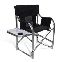 Heavy Duty Folding Chair With Side Table Wedding Cover Hire In Northamptonshire 690grand Full Back Director S And Storage Pouch