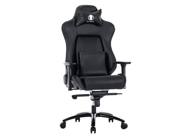 ergonomic chair back angle wishbone dining killabee big and tall 400lb memory foam gaming adjustable lumbar support