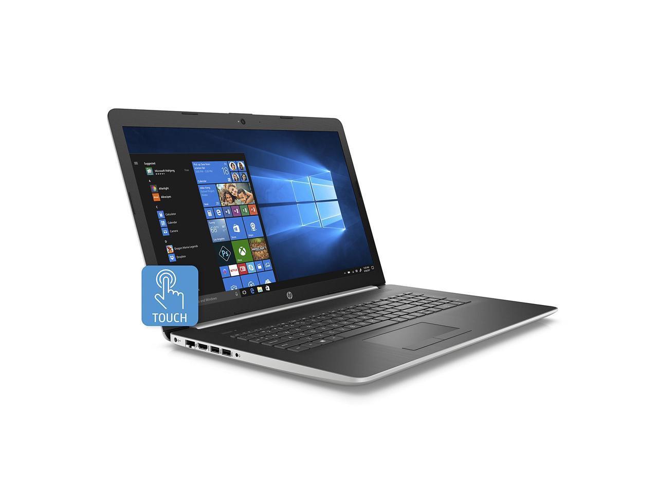HP 17-by1023cl Touchscreen Laptop. Intel i7-8565U. 8GB RAM. 512 SSD 6MW69UAR#ABA | eBay