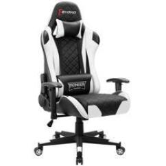 Computer Chair For Gaming Folding Circle Target Chairs Newegg Com Devoko Racing Style Height Adjustable Swivel Pc With Headrest And Lumbar Support