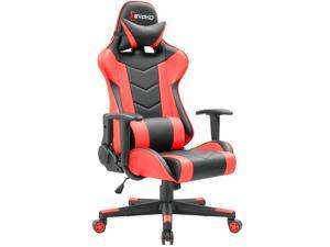 computer chairs for gaming chair back support posture newegg com devoko ergonomic racing style adjustable height high pc