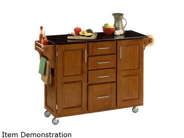 oak kitchen cart country decor home styles 9100 1064 create a cottage with black