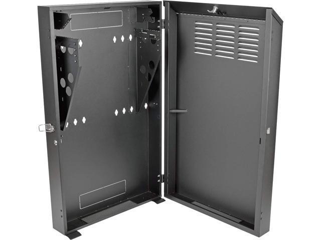 tripp lite 6u vertical wall mount rack enclosure cabinet low profile server depth 36 deep srwf6u36