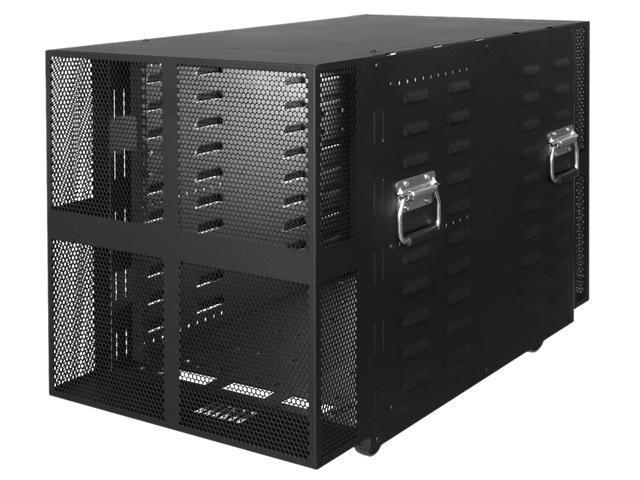 racksolutions rack 117 12u 12u portable server rack with casters