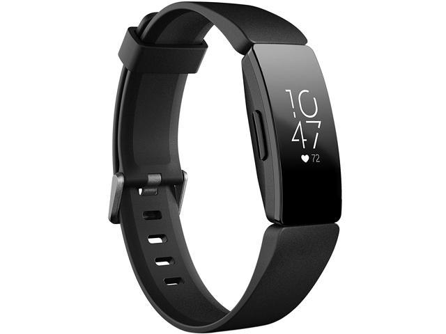 Fitbit FB413BKBK Inspire HR Heart Rate & Fitness Tracker, One Size (S&L Bands Included)