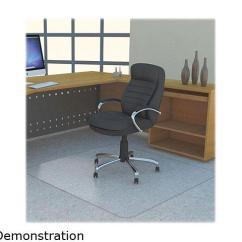 Office Chair Mat 45 X 60 Aluminum Camping Chairs Studded Chairmat Polycarbonate 46 X60 Clear Llr69705 Newegg Com Lorell Rectangular Carpeted Floor 53 Length Width