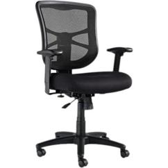 Alera Elusion Series Mesh Mid Back Multifunction Chair Indoor Rocking Chairs Aleel42bme10b Swivel Tilt Black
