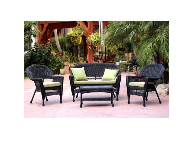 wicker patio chair loveseat