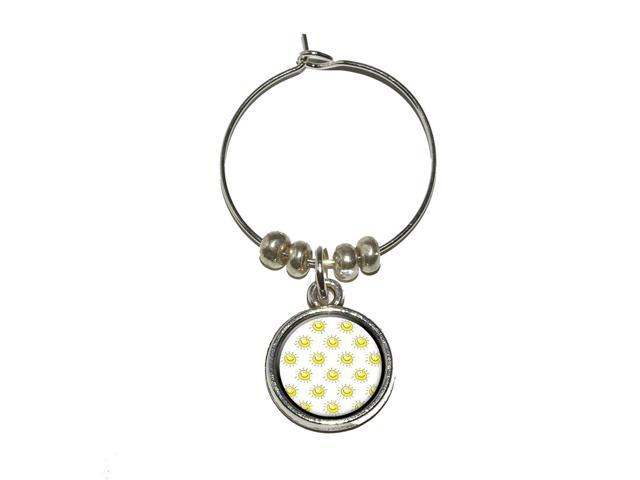 You're the Sunshine of My Life Wine Glass Charm Drink Stem